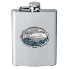Halibut Fish Flask | Heritage Pewter | FSK4269EB