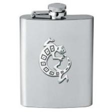 Lizard Flask | Heritage Pewter | HPIFSK4054