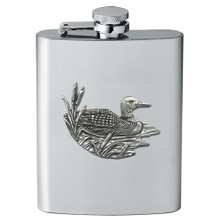 Loon Flask | Heritage Pewter | HPIFSK4074