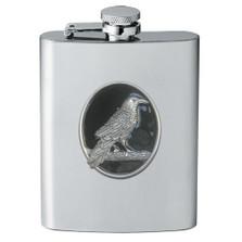 Raven Flask | Heritage Pewter | HPIFSK4277EBK