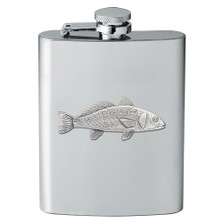 Red Fish Flask | Heritage Pewter | FSK4237