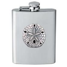 Sand Dollar Flask | Heritage Pewter | HPIFSK3300