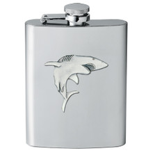 Shark Flask | Heritage Pewter | HPIFSK3350
