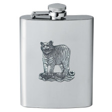 Tiger Flask | Heritage Pewter | HPIFSK3986