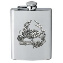 Turtle Flask | Heritage Pewter | HPIFSK4115