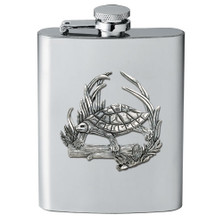 Turtle Flask | Heritage Pewter | HPIFSK4115