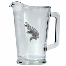 Alligator Beer Pitcher | Heritage Pewter | HPIPI3770