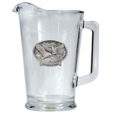 Bald Eagle USA Beer Pitcher | Heritage Pewter | HPIPI109USA