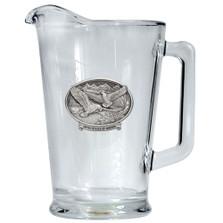 Bald Eagle USA Beer Pitcher | Heritage Pewter | HPIPI109USA