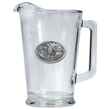 Bobwhite Quail Beer Pitcher | Heritage Pewter | HPIPI130