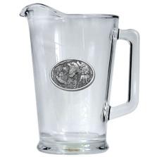 Bobwhite Quail Beer Pitcher | Heritage Pewter | HPIPI130
