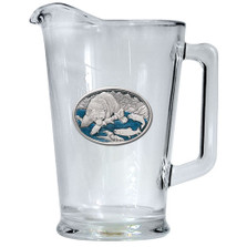 Brown Bear Beer Pitcher   Heritage Pewter   HPIPI118EB