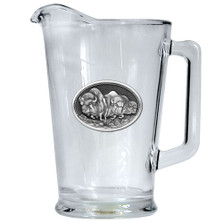 Buffalo Beer Pitcher | Heritage Pewter | HPIPI101