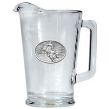 Bullrider Cowboy Beer Pitcher | Heritage Pewter | HPIPI4246