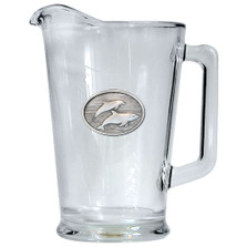 Dolphin Beer Pitcher | Heritage Pewter | HPIPI135