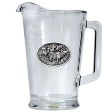 Elk Beer Pitcher | Heritage Pewter | HPIPI104