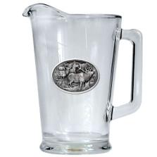 Elk Beer Pitcher | Heritage Pewter | HPIPI104