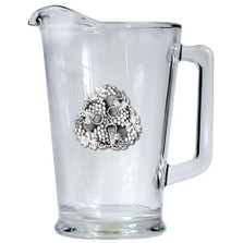 Grapes Beer Pitcher | Heritage Pewter | HPIPI4050