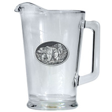 Grizzly Bear Beer Pitcher | Heritage Pewter | HPIPI105