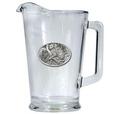 Leopard Beer Pitcher | Heritage Pewter | HPIPI137