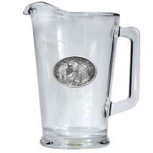 Lion Beer Pitcher | Heritage Pewter | HPIPI119