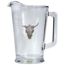 Longhorn Skull Beer Pitcher | Heritage Pewter | HPIPI3270