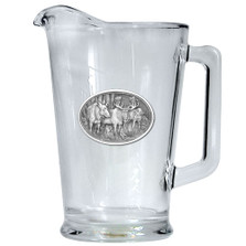 Moose Beer Pitcher | Heritage Pewter | HPIPI103