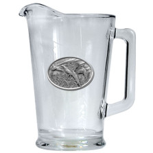 Pheasant Beer Pitcher   Heritage Pewter   HPIPI123