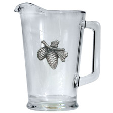 Pine Cone Beer Pitcher | Heritage Pewter | HPIPI3022