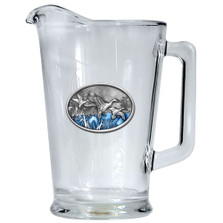 Pintail Duck Beer Pitcher | Heritage Pewter | HPIPI125EB