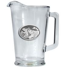 Polar Bear Beer Pitcher   Heritage Pewter   HPIPI112