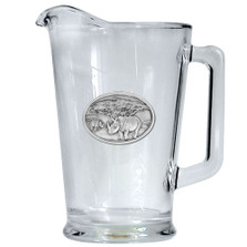 Rhino Beer Pitcher | Heritage Pewter | HPIPI136