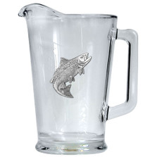 Salmon Fish Beer Pitcher | Heritage Pewter | HPIPI3690