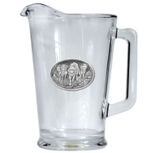 Wolf Pack Beer Pitcher | Heritage Pewter | HPIPI102