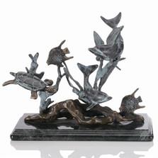 Dolphin Seaworld Sculpture | 30288 | SPI Home