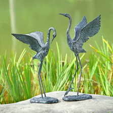 Crane Garden Pair | Exalted | 34280 | SPI Home-1