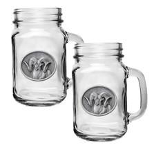Chadwick Ram Mason Jar Mug Set of 2 | Heritage Pewter | HPIMJM240