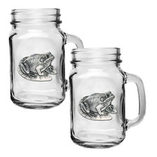 Frog Mason Jar Mug Set of 2 | Heritage Pewter | HPIMJM4114