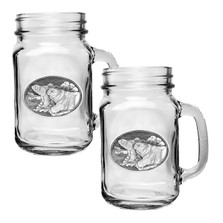 Polar Bear Mason Jar Mug Set of 2 | Heritage Pewter | HPIMJM112