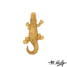 Alligator Brass Door Knocker | MHS51 | Michael Healy