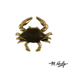 Blue Crab Brass Door Knocker | MHS131 | Michael Healy