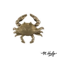 Blue Crab Nickel Silver Door Knocker | MHS133 | Michael Healy