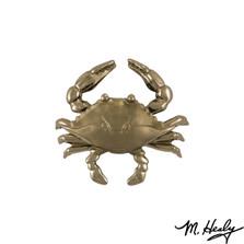 Blue Crab Nickel Silver Door Knocker | MHS133 | Michael Healy