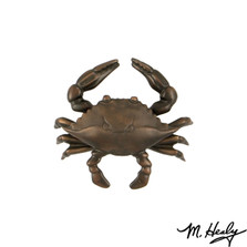 Blue Crab Oiled Bronze Door Knocker | MHS134 | Michael Healy