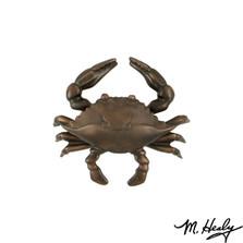 Blue Crab Oiled Bronze Door Knocker | MHS134 | Michael Healy