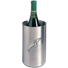 Humpback Whale Wine Chiller | Heritage Pewter | HPIWNC3380