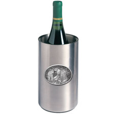 Lion Wine Chiller | Heritage Pewter | HPIWNC119