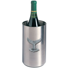 Whale Tail Wine Chiller | Heritage Pewter | HPIWNC4057