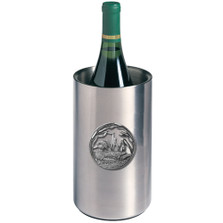 Wood Duck Wine Chiller | Heritage Pewter | HPIWNC4085
