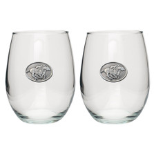 """Racehorse Stemless Goblet Set of 2 